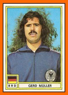 Gerd Müller | La photo date bien de la saison 1971/72 car voici la vignette de l ...