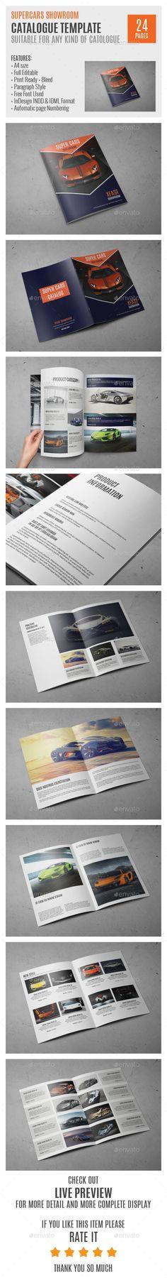 SuperCars A4 Catalog Template 0003