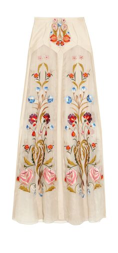 Lovely floral embroidery