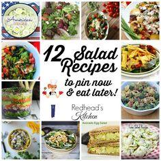12 Salad Recipes