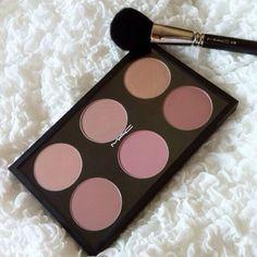 X Mac blush palette x