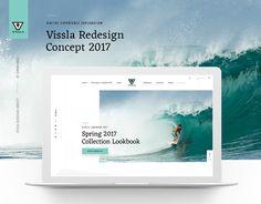 查看此 @Behance 项目: \u201cVissla Redesign Concept\u201d https://www.behance.net/gallery/52098205/Vissla-Redesign-Concept