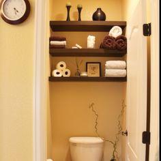 indretnings ide til småt badeværelse