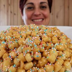Italian Cookie Recipes, Italian Cookies, Italian Desserts, Italian Biscuits, Doughnut, Good Food, Food And Drink, Sweets, Breakfast