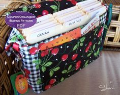 Coupon Organizer Bag - via @Craftsy