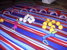 I've enjoyed reading ideas posted by Todd… and I've enjoyed posting some ideas that I use in my 4th grade Sunday School class. Here's a few more:Ping-Pong Blow Golf:&n…