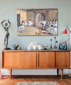 Degas The Dance Foyer At The Opera Replica Wrapped Canvas #zulily #zulilyfinds