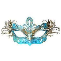 Black Masquerade Mask Luxury Venetian Filigree Black Swan Laser Cut Metal Masquerade Ball Mask
