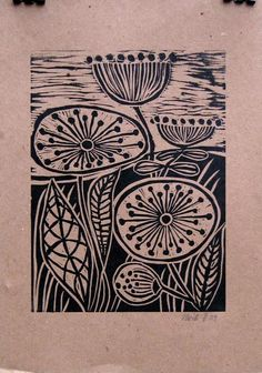 "Image Spark - Image tagged ""lino cut"", ""printmaking"", ""birds"" - lologill"