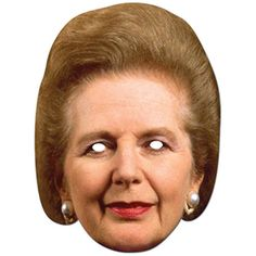 Margaret Thatcher Face Mask – Modo Creations