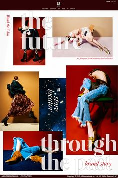 handhandhand is a design studio based in shanghai which expertise in fashion industry and brand image building. It offers a full range of design services including graphic design、ad campaigns、 website design、VI design、package design、photography and so on. Layout Design, Web Design, Graphic Design, Brand Story, Industrial Style, Service Design, Packaging Design, Layouts, Banner
