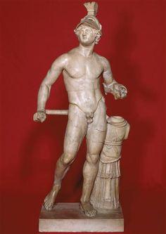 Alexandre le Grand, casqué   2e siècle ap J.-C.   Musée du Louvre   Paris (France)