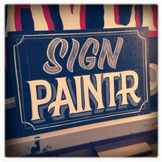 Sign Painting Collection by Caetano Calomino, via Behance