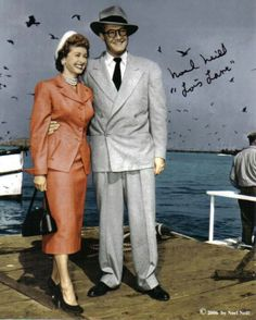 Clark Kent (George Reeves & Lois Lane (Noel Neill, who replaced Phyllis Coates after the first season of The Adventures Of Superman in the 50s