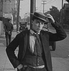 Buster Keaton in The Goat (1921)