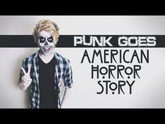 Punk Goes American Horror Story?! (Metal Cover of AHS Theme) // Austin Jones - YouTube