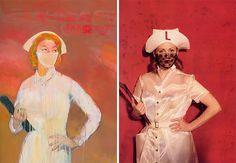 Julianne Moore As Famous Works Of Art