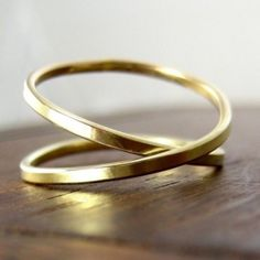 jewels ring double gold infinity
