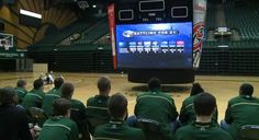 College teams use YouTube to go behind the scenes on Selection Sunday. Love this for the fans.