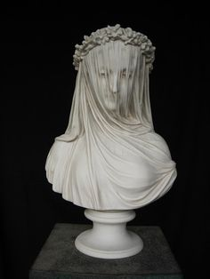 The Veiled Lady, Raphaelle Monti. I have always loved this bust in P & P!