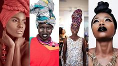In love with headwraps!  ~African Prints, African women dresses, African fashion styles, African clothing, Nigerian style, Ghanaian fashion ~DKK