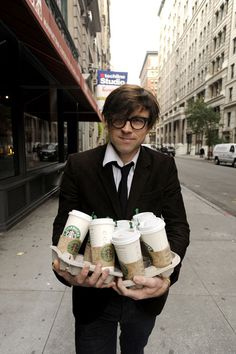 ryan adams and an armload of caffeine. doesn't get more dreamy.