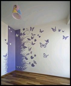 Stefano Toscano, Emanuele Zaniboni, Alessandro Armando, Beppe Giardino · Eine CA - Wandgestaltung ideen - - Diy Wand, Room Wall Painting, Wall Paintings, Bathroom Paintings, Wall Painting Design, Painting Doors, Stencil Painting, Painting Canvas, Interior Paint Colors