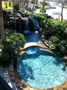 Pool With Waterfall – bullyfreeworld.com