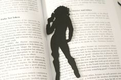 Doctor Who: River Song - Hand-cut Silhouette Bookmark, Doctor Who Bookmark, River Song Bookmark on Etsy, $6.99