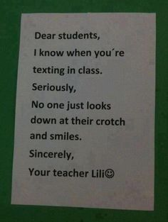 My teacher told our class this once!!!