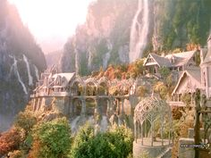 Wouldn't mind living at Rivendell. Or at least vacationing there.