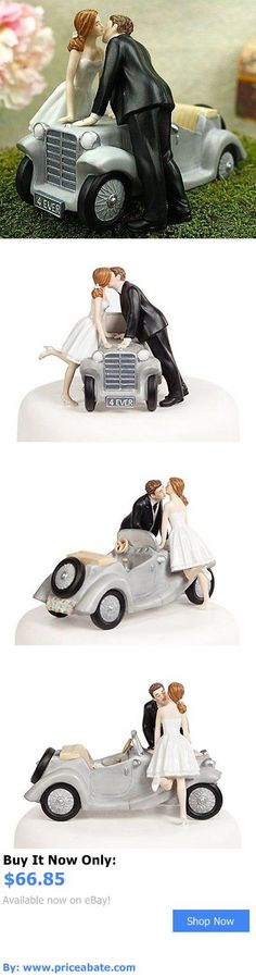 Wedding Cakes Toppers: Ill Love U 4 Ever Car Wedding Cake Topper New BUY IT NOW ONLY: $66.85 #priceabateWeddingCakesToppers OR #priceabate