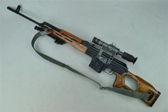 You're not bulletproof..., PSL A Romanian made semi-automatic rifle...
