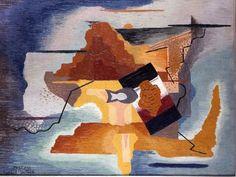 František Foltýn - Composition X  #painting  #Czechia #art