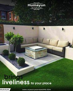 39 Way to Simple Garden Design For Small Backyard Ideas - ., 39 Way to Simple Garden Design For Small Backyard Ideas - . Simple Garden Designs, Back Garden Design, Modern Garden Design, Small Back Garden Ideas, Small Garden Inspiration, Modern Patio, Simple Backyard Ideas, Simple Garden Ideas, Design Inspiration