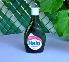 Vintage 1970's Halo Shampoo Unopened Bottle 11 oz Colgate Palmolive Old Stock #HaloShampoo