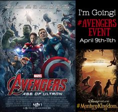 It's True – I'm going to LA in April for the #AvengersEvent!!  Read all about it!!   #Marvel #Avengers #AgeOfUltron #Disney