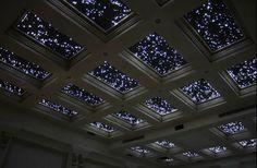 I want this ceiling - fibre optic lights