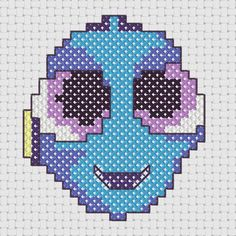 Baby Dory Cross Stitch by WhatSallyMade on Etsy