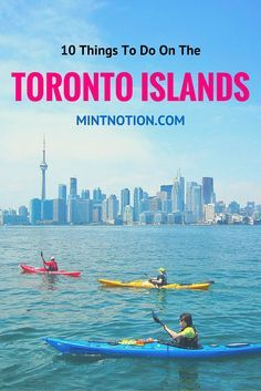 10 things to do on the Toronto Islands (for all ages). If you're visiting Toronto, don't miss a chance to visit the Toronto Islands -- it's just a short ferry ride away!