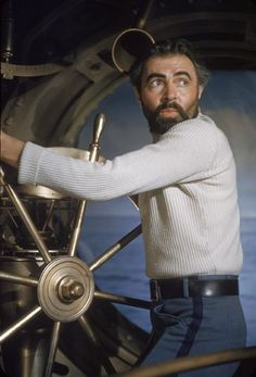 20000 Leagues Under the Sea - James Mason as the Steampunk pirate, Captain Nemo