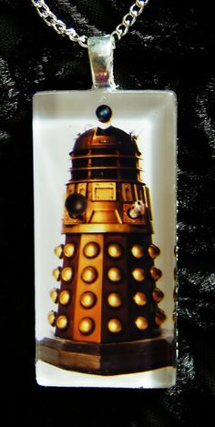 Dr Who Dalek  Necklace by elinay on Etsy, $20.88