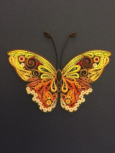 Butterfly. Quilling by Canan Ersöz.