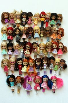 ADAD 118/366 -- All my LPS girls! by obsessivelystitching - StitchWhipped, via Flickr
