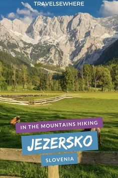 Spending a day in the mountains of Slovenia hiking Jezersko Valley, via Hiking Guide, Hiking Tours, Travel Guide, Places To Travel, Travel Destinations, Outdoor Camping, Outdoor Travel, Rome Travel, Mountain Hiking