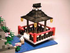 Japanese Garden: A LEGO® creation by hazatronic - : MOCpages.com