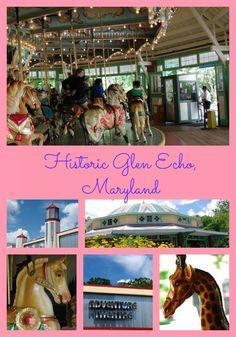 Adventure Theatre and Historic Glen Echo Park, Glen Echo, Maryland