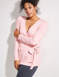 Active Wrap Dance Top (original price, $44.95) available at #Maurices