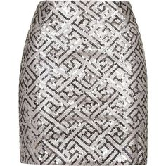 TOPSHOP **Keep It Together Sequin Mini Skirt by WYLDR (115 BGN)