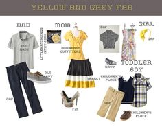 A Pocket full of goldfish: What to Wear for Family Photos